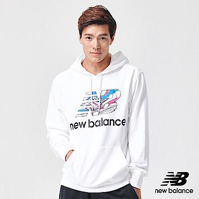 New Balance 長袖上衣_AMT91529WT_男性_白色