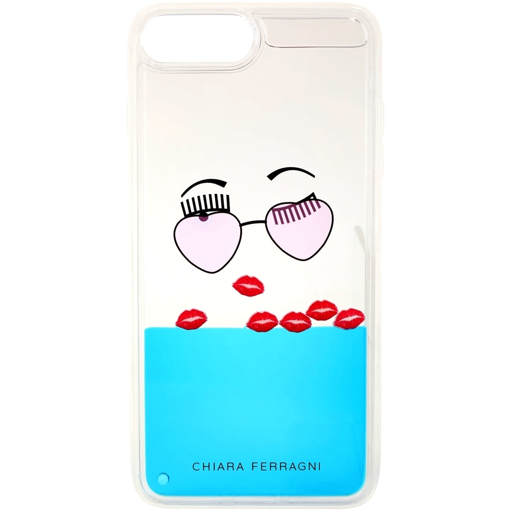 Chiara Ferragni 墨鏡紅唇圖案 i7/8 PLUS手機殼(5.5吋)