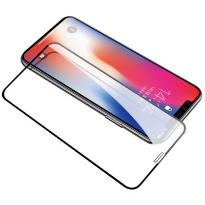 iPhone 11 絲印 滿版 全膠 9H 鋼化玻璃膜 螢幕保護貼