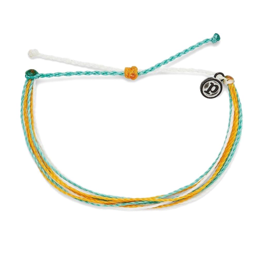 Pura Vida 美國手工 ONE MORE WAVE衝浪治療 慈善基本款可調式手環