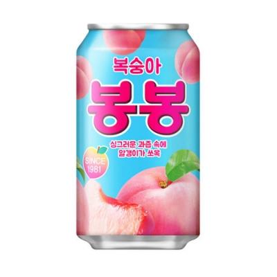 HAITAI 水蜜桃果汁(340毫升/罐) x5罐組