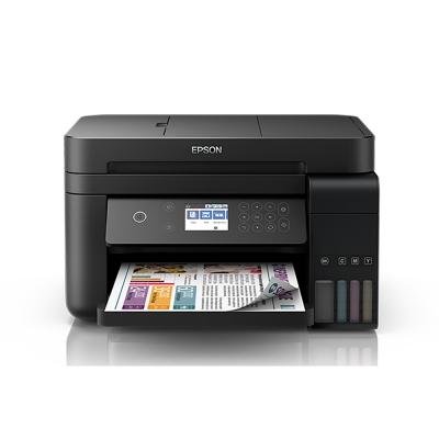 (加購超值組)EPSON L6170雙網三合一 高速 連續供墨印表機+1組墨匣(1黑3彩)
