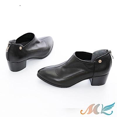 SM 時尚個性顯瘦粗跟短靴