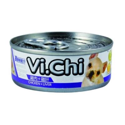 維齊Vi.Chi 《經典 機能狗罐-雞肉+雞肝 》80g 24罐組