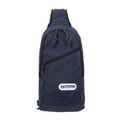 【OUTDOOR】單肩背包-深藍色 OD291131NY