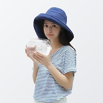 日本COGIT 大帽檐純色時尚防曬漁夫帽