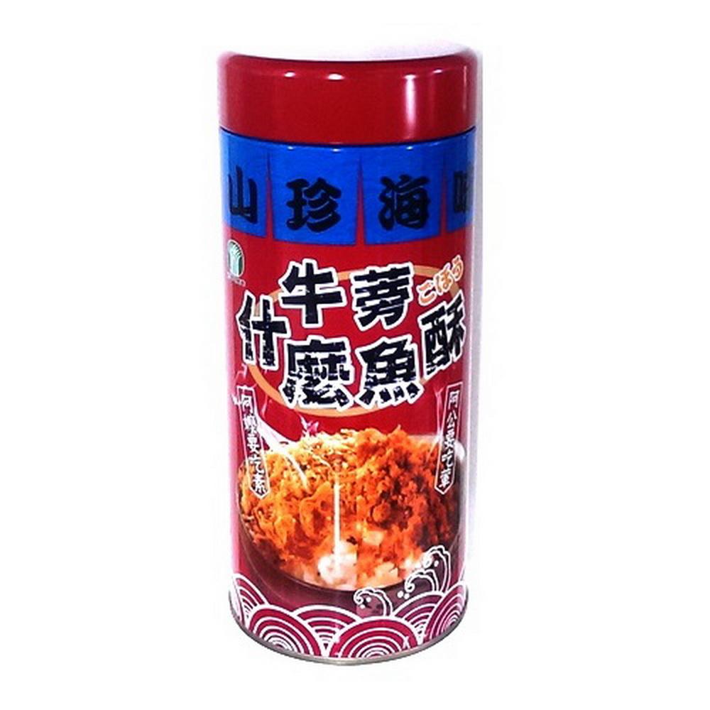 將軍區農會 牛蒡什麼魚酥(300g/罐)