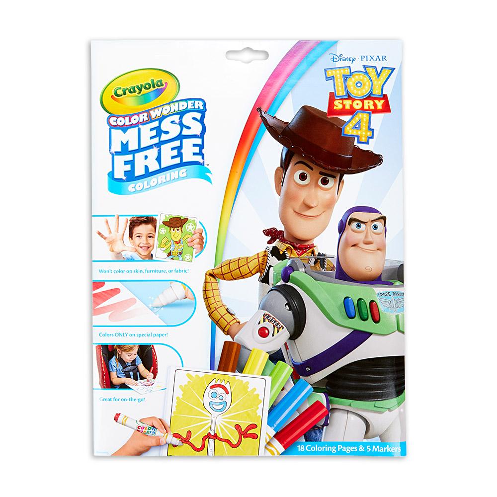 美國crayola 繪兒樂 神彩著色套裝-玩具總動員4(紙盒)
