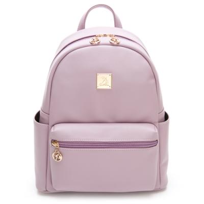 Arnold Palmer- 雙肩後背包-粉紫色
