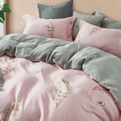LAMINA 幽幽暗香 100%天絲枕套床包組 加大