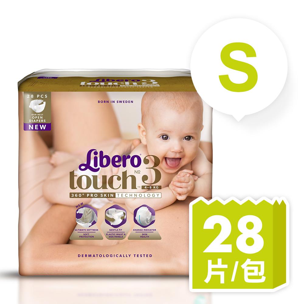 麗貝樂 Touch嬰兒紙尿褲3號(S-28片) @ Y!購物