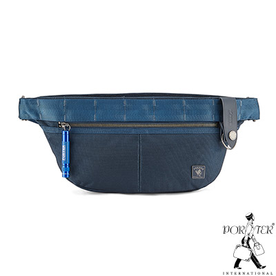 PORTER - 經典新進化NEW HEAT輕量休閒單肩包- 普魯士藍