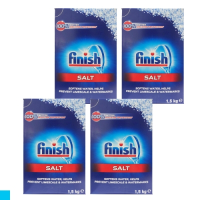 德國進口 FiNiSh 洗碗機專用 軟化鹽 1.5公斤 X4入組