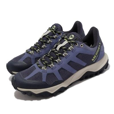 Merrell 戶外鞋 Fiery GTX 防水 女鞋 輕量 貼合性佳 抗菌防臭 穩定 支撐 紫 ML16602