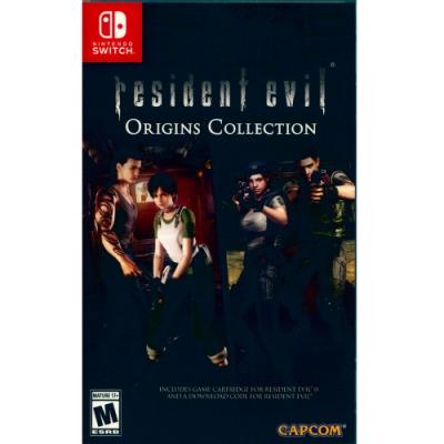 惡靈古堡 起源精選輯 Resident Evil - NS Switch 中英日文美版