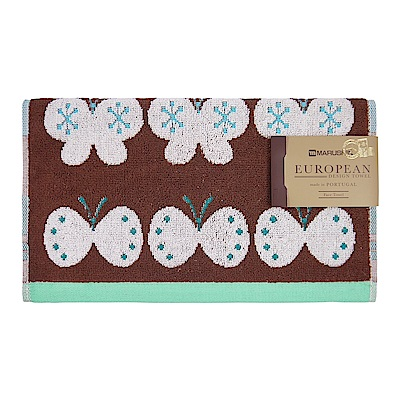 日本丸真 葡萄牙製創意廚房毛巾-蝴蝶