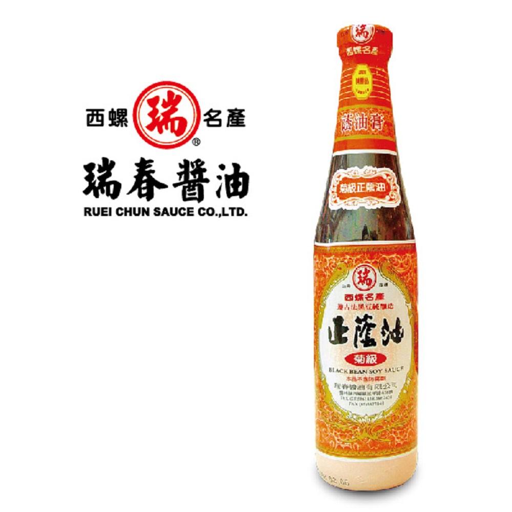 瑞春 菊級正蔭油(油膏)十二瓶入