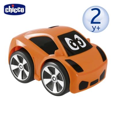 chicco-迷你跑跑迴力車-橘