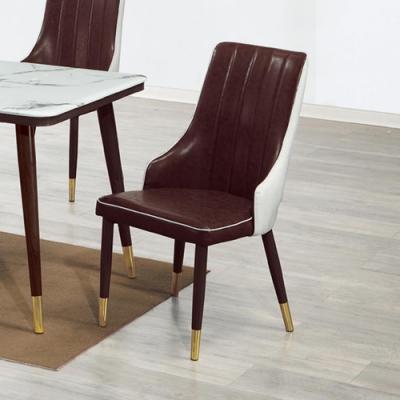 Boden-達蓮娜皮面餐椅/單椅-51x45x95cm