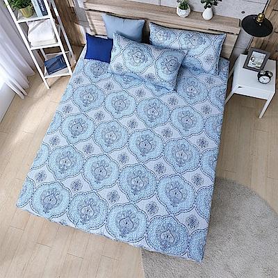 岱思夢 雙人100%天絲床包枕套三件組 禧安
