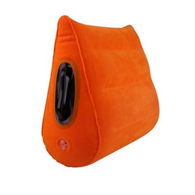 魔力小愛墊 SM坡型三角細絨充氣墊-獨特把手設計
