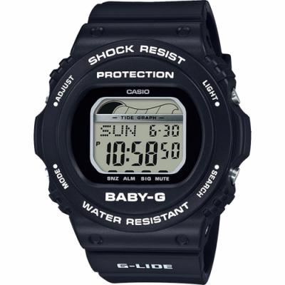 CASIO 卡西歐 Baby-G 衝浪手錶-BLX-570-1