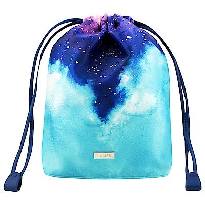 LA MER海洋拉娜 限量星空束口袋化妝包(紫)