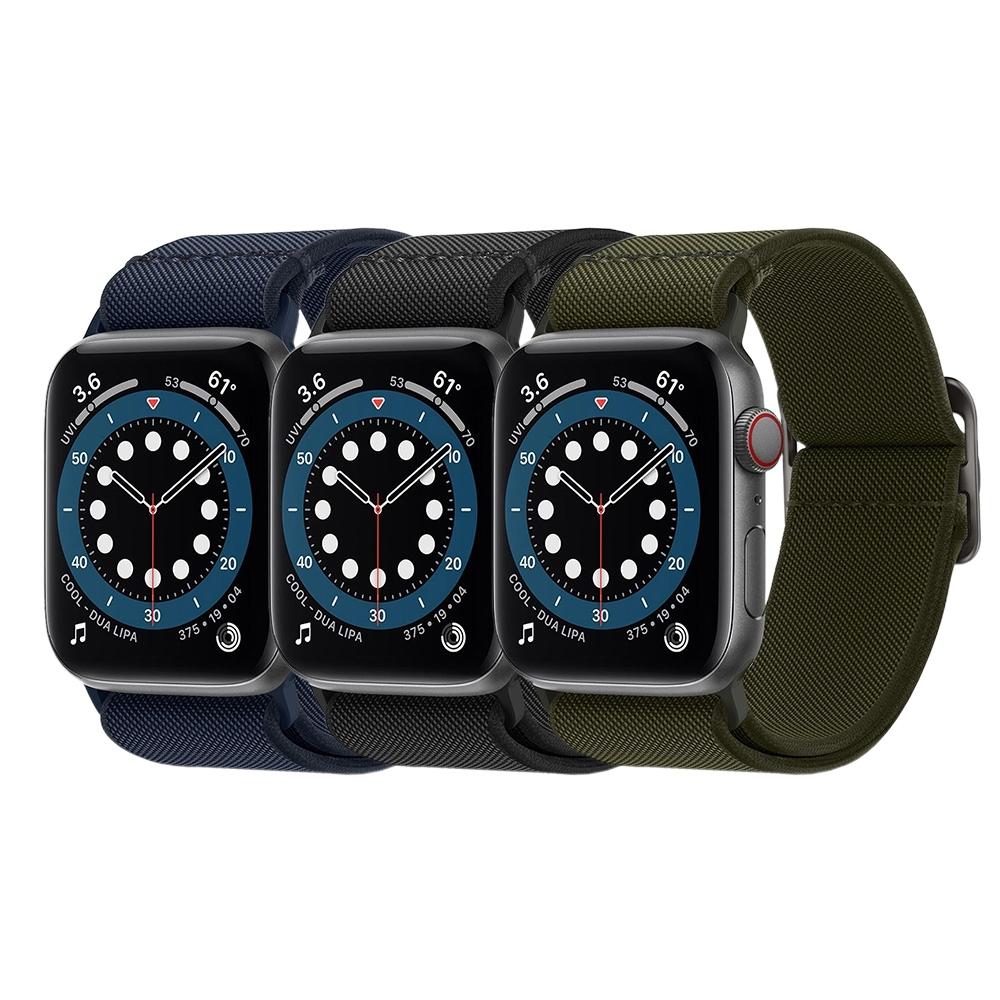 SGP / Spigen Apple Watch Sereis SE/6/5/4/3/2/1 Lite Fit-彈力編織錶帶