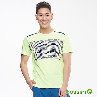 bossini男裝-ZtayDry快乾圓領短袖T恤05螢光
