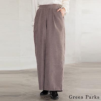 Green Parks 舒適燈芯絨寬褲