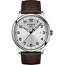 TISSOT 天梭紳士XL經典石英手錶-41mm