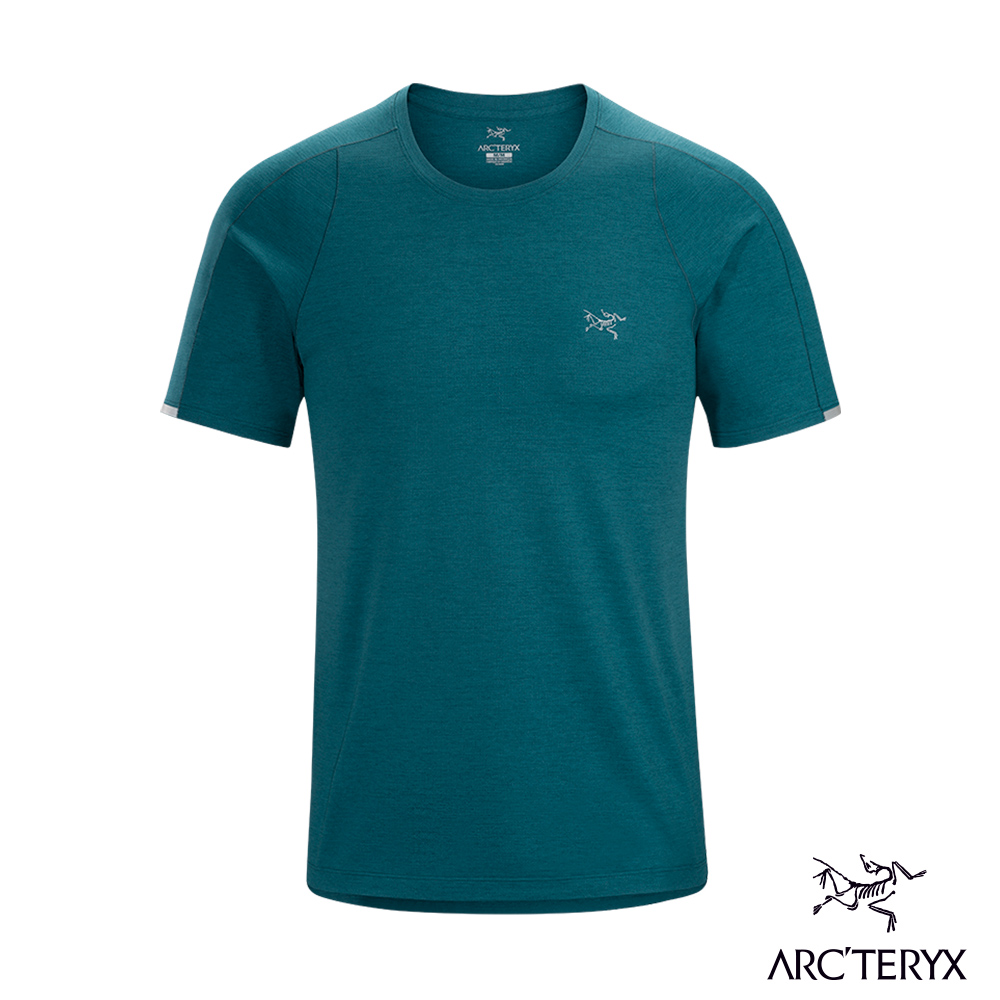 Arcteryx 始祖鳥 男 Cormac 快乾短袖圓領衫 海洋綠 @ Y!購物