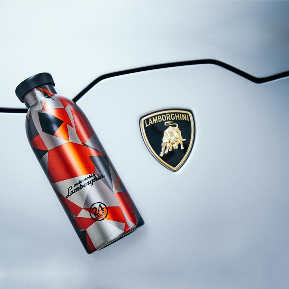 24Bottles 藍寶堅尼聯名款 不鏽鋼雙層保溫瓶 500ml