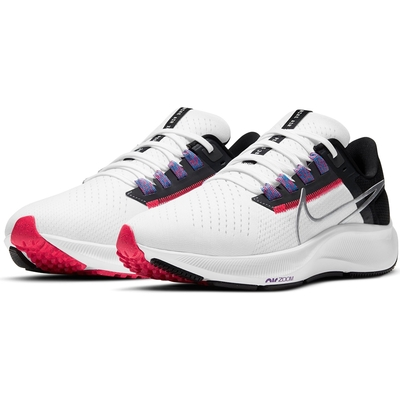 NIKE 慢跑鞋 運動鞋 緩震 小飛馬 女鞋 白黑紅 CW7358101  WMNS AIR ZOOM PEGASUS 38