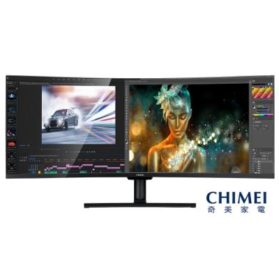 奇美CHIMEI  49型超寬量子點曲面螢幕 ML-49C20W