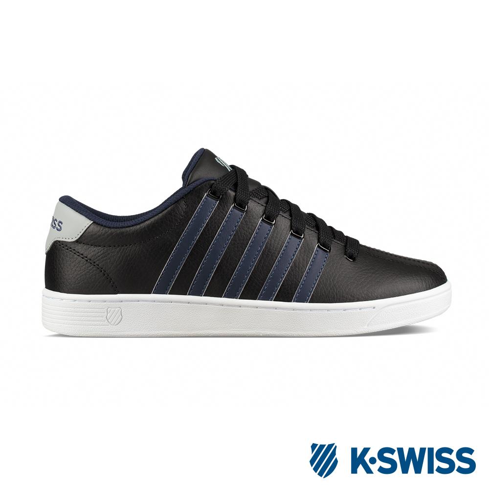 K-SWISS Court Pro II CMF休閒運動鞋-男-黑/藍