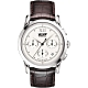 TISSOT天梭 Heritage 1948系列古典計時機械錶-銀x咖啡/39.5mm T66171233 product thumbnail 1