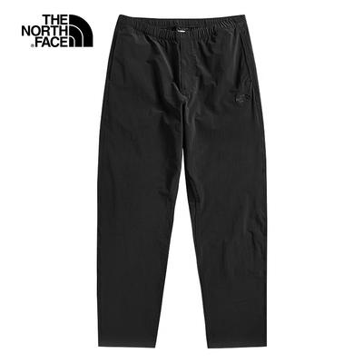 The North Face北面男款黑色舒適透氣戶休閒褲 4NEAJK3