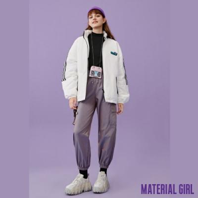 MATERIAL GIRL 史迪奇運動條紋休閒外套【20冬季款】-A41028