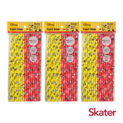 Skater環保紙吸管(6mm)-米奇3包