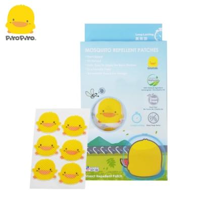 【任選】黃色小鴨《PiyoPiyo》薰香驅蚊貼片 (6枚裝X3包)