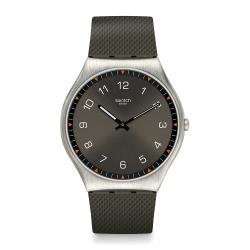 Swatch 超薄金屬系列 SKINEARTH 超薄金屬-大地系-42mm