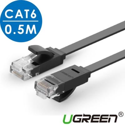 綠聯 CAT6網路線 FLAT版 0.5M