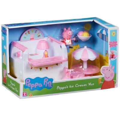 PEPPA PIG 粉紅豬小妹-冰淇淋餐車組