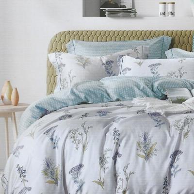 LAMINA 微甜晨霧 100%天絲枕套床包組 加大