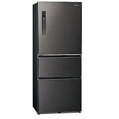 [館長推薦] Panasonic 國際牌 500公升 三門變頻冰箱 NR-C501XV-V 絲紋黑
