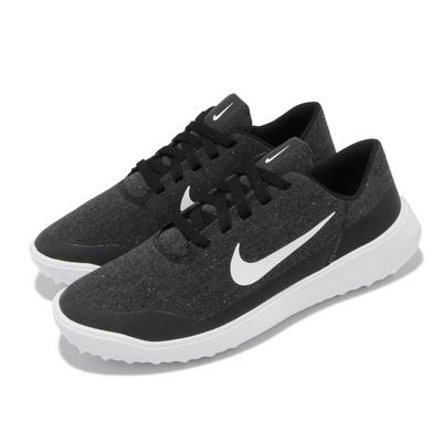 Nike 高爾夫球鞋 Victory Golf Lite 男鞋 寬楦 透氣 緩震泡棉中底 場內外穿搭 黑 白 CW8227-024