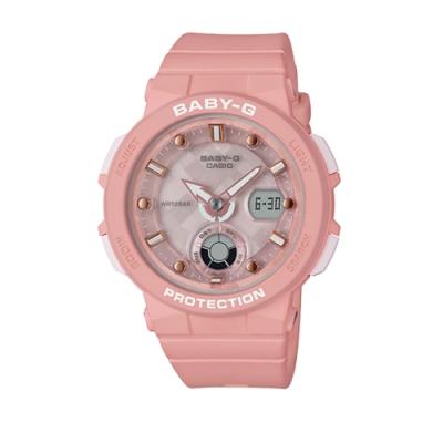 CASIO BABY-G/潮流尖端雙顯運動腕錶/BGA-250-4A