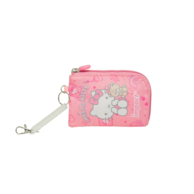 【IMPACT】甜甜凱蒂零錢卡袋-粉紅 IMKTD03PK