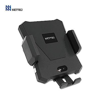 NETTEC 車用無線充電感應式車架(附出風口夾)